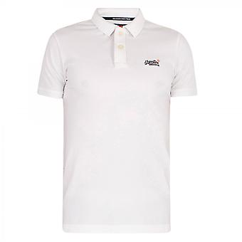 Polo Superdry Classic Pique S/S Polo Weiß