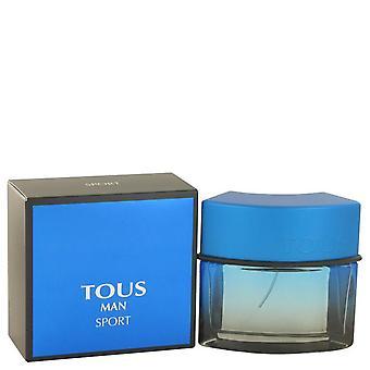 Tous Man Sport Eau De Toilette Spray von Tous 1,7 Oz Eau De Toilette Spray