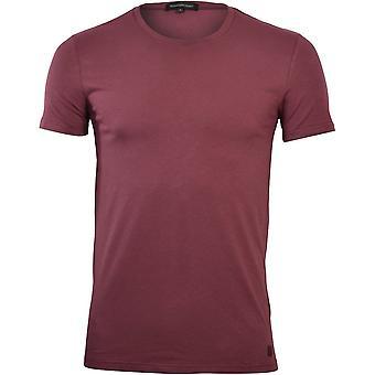 Ermenegildo Zegna Stretch Cotton Crew-Neck T-Shirt, Berry
