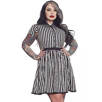 Sourpuss Clothing Lydia Stripe Dress