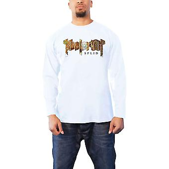 Kvelertak T Shirt Splid Band Logo new Official Mens White Long Sleeve