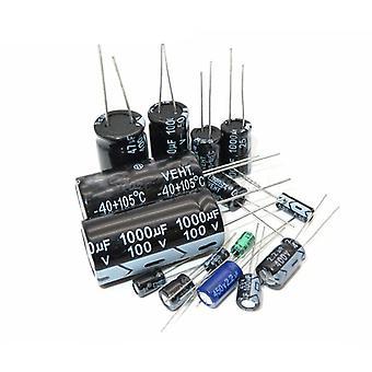 35v-470uf, aluminium elektrolytisk kondensator