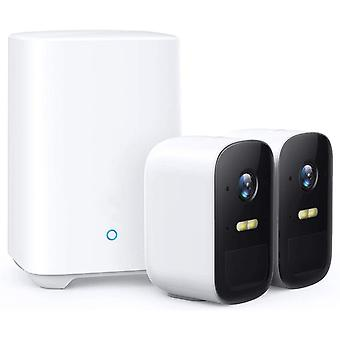 Wireless Home Security System 2 Camera Kit