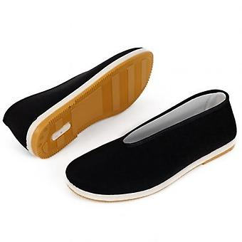 Cotton Tai-chi Shoes, Men's Traditional Kung Fu Cotton Cloth, Martial Art