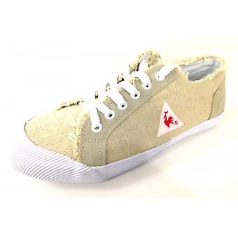 Women's Shoes Sneaker Le Coq Sportif In Canvas Beige Series 4
