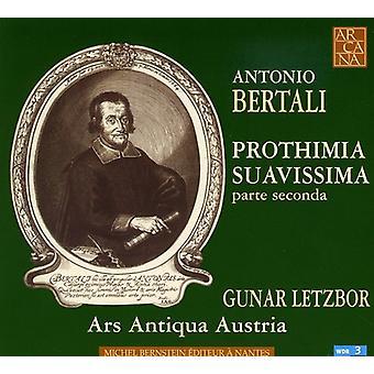 A. Bertali - Antonio Bertali: Prothimia Suavissima Parte Seconda [CD] Yhdysvallat tuoda