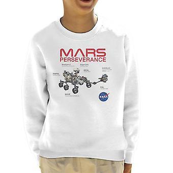 NASA Mars Perseverance Labelled Kid's Sweatshirt