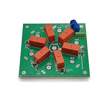 6-vejs Diy Kit 6:1 Coax Remote Antenna Switch So-239 1,8 mhz - 60 mhz