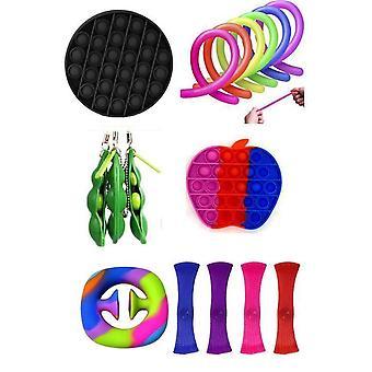 25 st. Fidget Toys Set för barn och vuxna