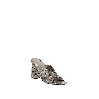Loeffler Randall | Coco Snakeskin-Embossed Sandals
