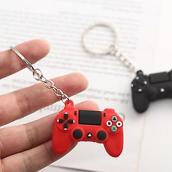 New Creative Personality Simulation Game Keychain Ring Pendant