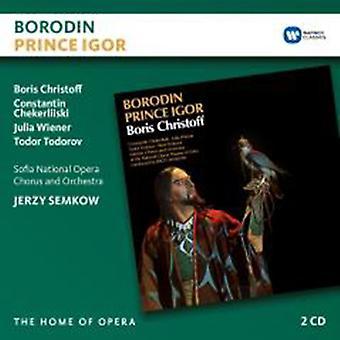 Borodin / Christoff / Cherliiski / Wiener - Prince Igor [CD] USA import