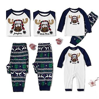 Abbigliamento abbinato per famiglie di Natale