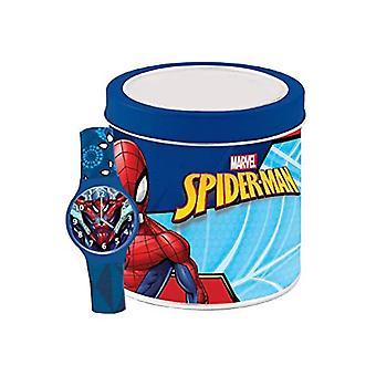 Marvel analoginen rannekello Spider-Man-tin-laatikossa