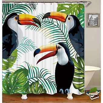 Toucans Painting Shower Curtain