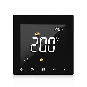 Wifi Smart Thermostat Programmable Water Floor Heating Temperature Controller Écran tactile Couleur Avec la télécommande de l'application