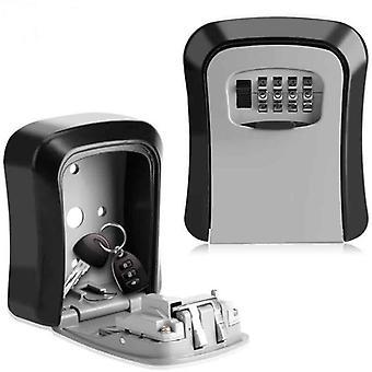 Outdoor Safe Key Box,  Security 4 Digit  Lock Box