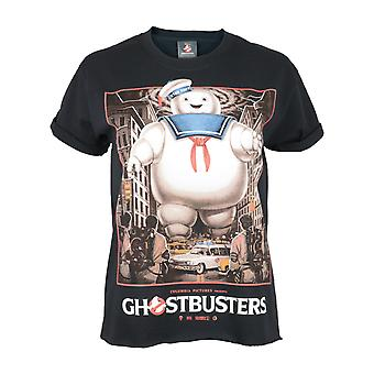 Ghostbusters Womens/Ladies Stay Puft Square Boyfriend T-Shirt