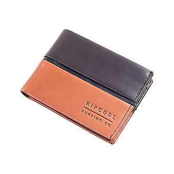 Rip Curl Stringer RFID All Day Leather Wallet in Brown