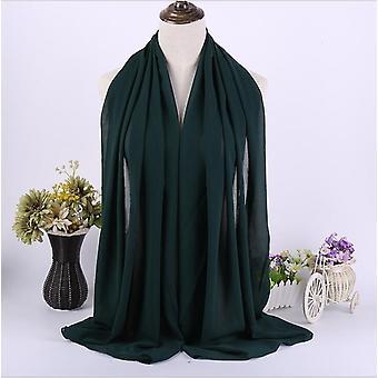 Длинные шарфы Шифон, Хиджабы равнине голову Шоул, платок