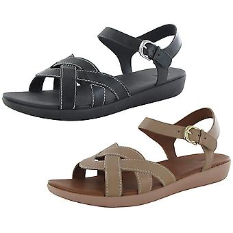 Fitflop Mujer Elyna Tejer Zapatos de sandalia de correa trasera