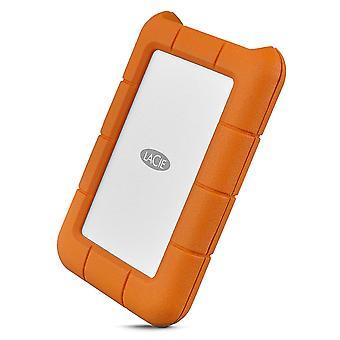 Externí pevný disk LaCie Rugged USB-C 1000 GB oranžový, stříbrný