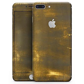 Grungy Golden Smoke - Skin-kit For The Iphone 8 Or 8 Plus