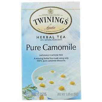 Twining Tea Tea Camomile, 6 X 20 pussin kotelo