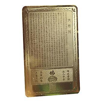 Ouverture de la carte d'amulettes Guanyin