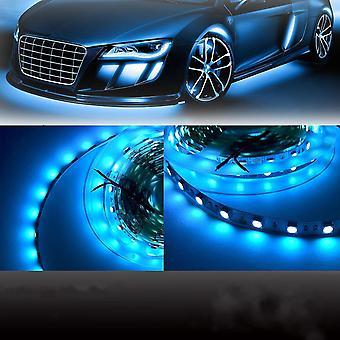 5M Niet-waterdichte SMD5050 Golflengte 480nm Ice Blue 600 LED Strip Light DC12V