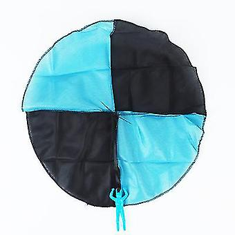 3pcs Parachute Toy Children's Flying Toys For Kids Gifts(Blue)
