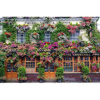 Piatnik Churchill Arms Kensington Jigsaw Puzzle (1000 Pieces)