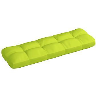 vidaXL garden sofa cushion light green 120x40x12 cm fabric