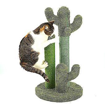 고양이 긁힘 포스트 키가 큰 장난감 세이 고양이 나무