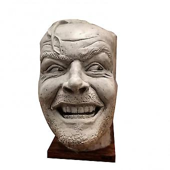 Sculpture Of The Shining Bookend Library Heres Johnny Sculpture Resin Desktop Ornament Book Shelf