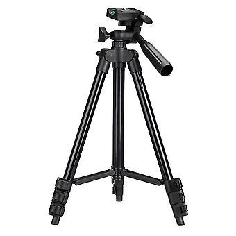 Aluminium 4 Sections Professional Camera Tripod Stand Adjustable Phone Holder