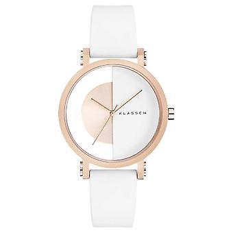 Klasse14 Im Arch White 32mm White Silicone Strap IM18RG007W Watch
