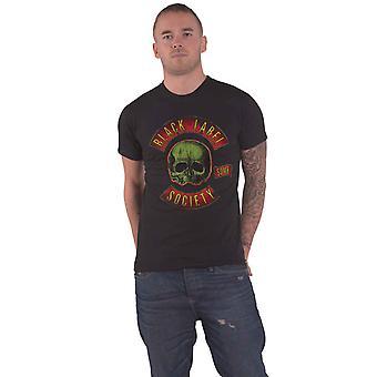 Black Label Society T Shirt Skull Band Logo new Official Mens Black