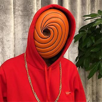 Cosplay Mask Props Uchiha Obito Orange Resin Party Halloween Tobi Mask Regalo
