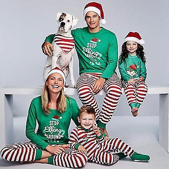 Family Christmas Pajamas Set Matching Clothes Romper Sleepwear