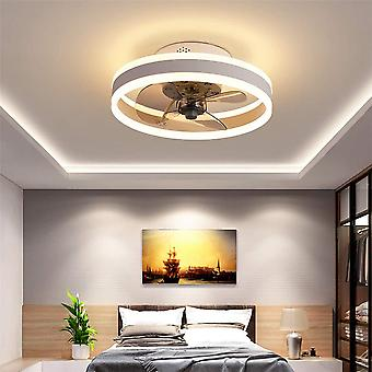 תאורת תקרת מאוורר LED, 6 מהירויות תאורת תקרת מאוורר מודרנית מרחוק