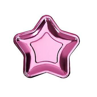 Folio tähtilevy - pieni - vaaleanpunainen