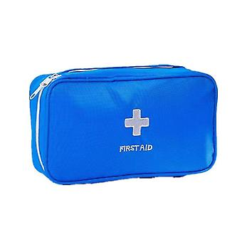 First aid kits first aid kit epidemic prevention package home physiotherapy bag rescue bags 24cm*14cm*7cm blue