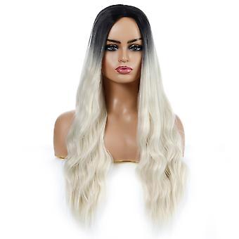 Brand Mall Peruki, Koronkowe Peruki, Realistyczne Puszyste Długie Włosy Faliste Kręcone Włosy Spersonalizowane Peruki