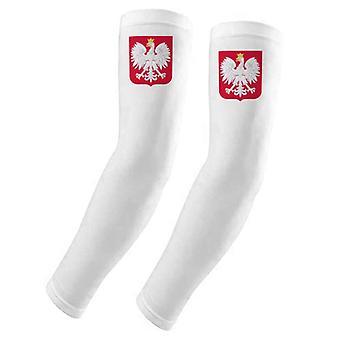 Poland Europe National Emblem Arm Cover