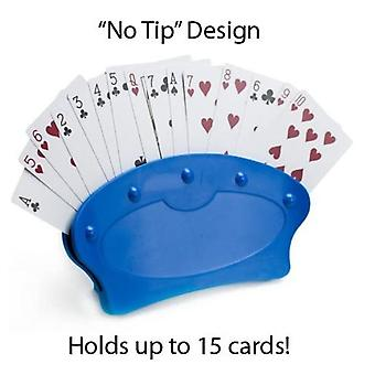 Hands-free Playing Card Holders Holds Up To 15 Cards In Each
