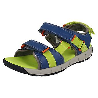 Boys Clarks Hook & Loop Strap Sandals Jolly Crazy