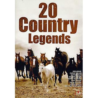 20 Country Legends [DVD] USA import