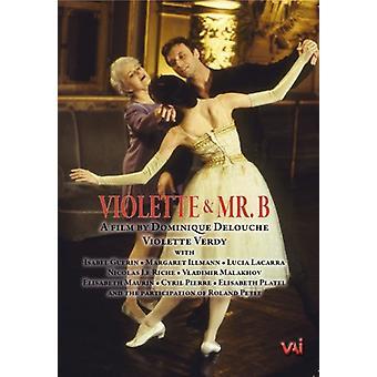 Violette Et Mister B [DVD] USA import