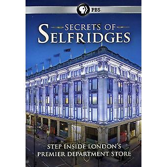 Secrets of Selfridges [DVD] USA import